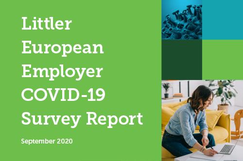 The Littler European Employer COVID-19 Survey Report