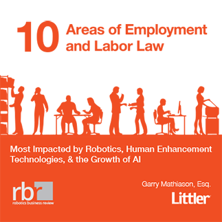 10 Areas of Employment and Labor Law Most Impacted by Robotics