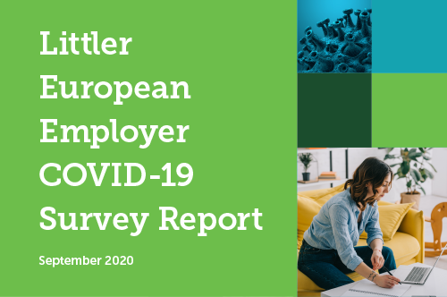 Littler European Employer COVID-19 Survey Report