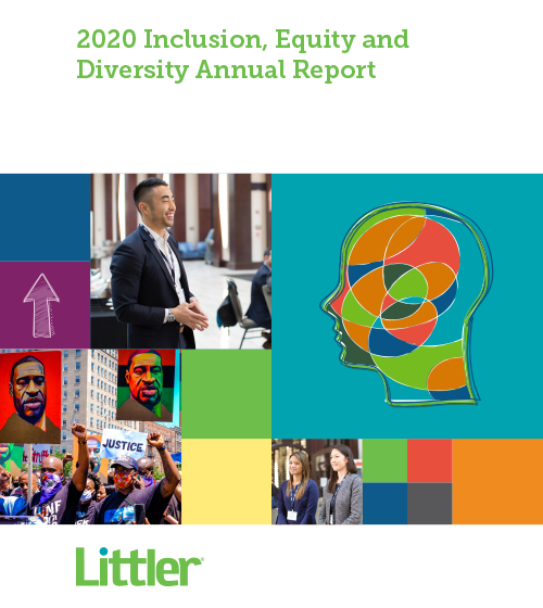 Littler Inclusion, Equity and Diversity Annual Report 2020