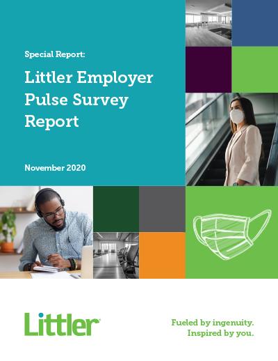 Littler 2020 Employer Pulse Survey Report